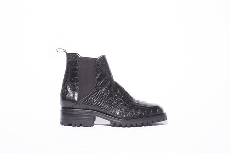 Zou Xou Nerea Boot - Black Croco