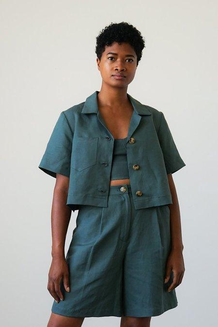 Waltz Camp Shirt Jacket - Spruce