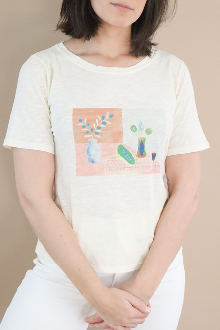 Nice Things Paloma Still Life T-shirt - White