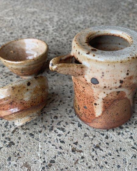 ALESSANDRO DI SARNO Saké set - Clay