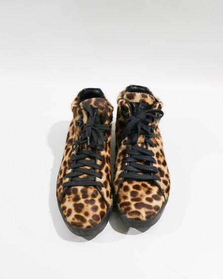 [pre-loved] Rag & Bone Kent High Top Sneakers - Leopard