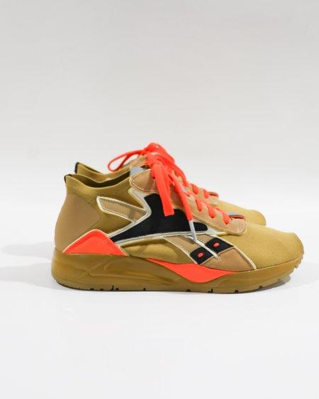 pre-loved Reebok X Victoria Beckham VB Bolton Low Sneakers - Tan