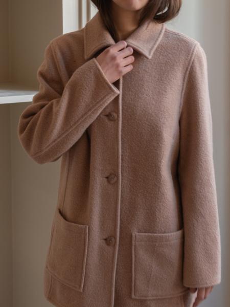 Vintage Soft Blazer - Brown