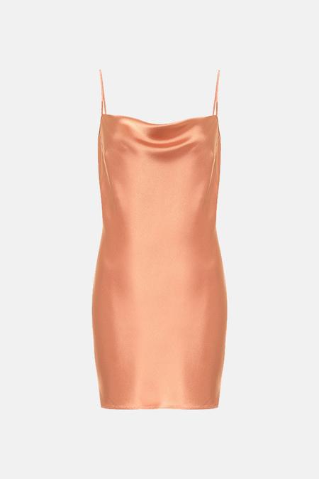 Nanushka Lotti Mini Slip Dress - Apricot