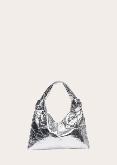 Little Liffner Knot Evening Bag - Silver