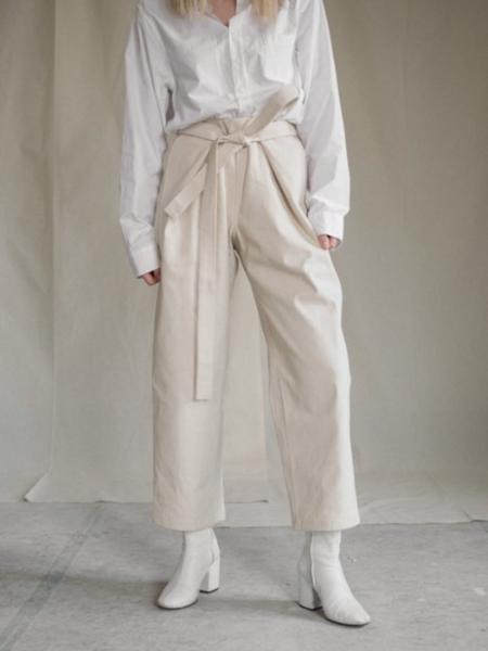 Unisex AURE Atelier Trousers - Cream