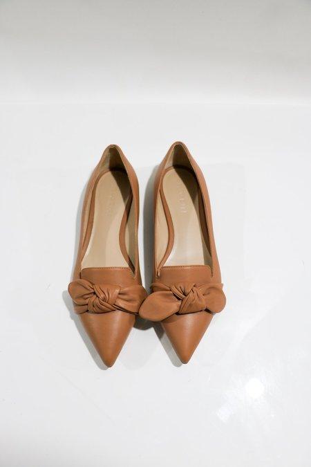 [pre-loved] M. Gemi Abbracci Flats - Tan