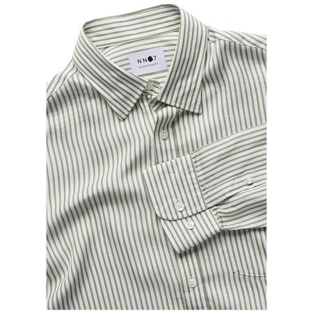 NN07 Errico Pocket Shirt - Leaf Green