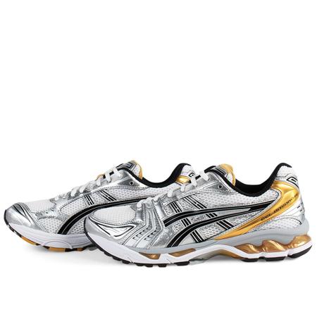 Asics Gel-Kayano 14 Sneakers - White/Pure Gold