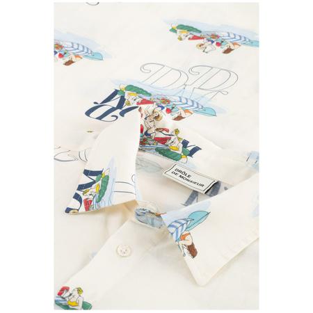 Drôle De Monsieur Riviera Picnic Shirt - Off White