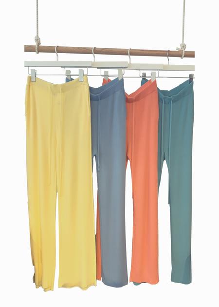 Dona Lim Rib knit pants