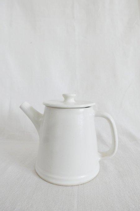 Mervyn Gers Teapot - White Glaze