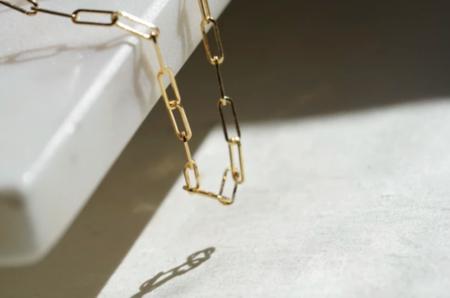 GJenmi Brick Chain Necklace