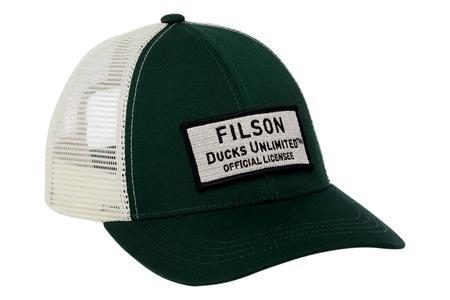 Filson Mesh Snap Back Logger Cap - Ducks Unlimited