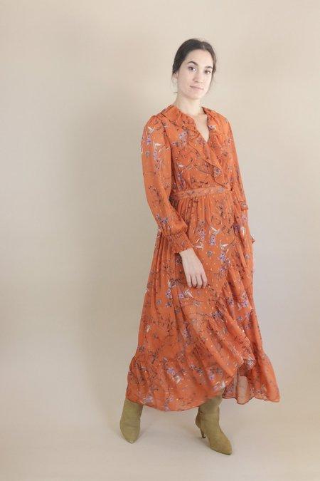 Orfeo Misti Wrap Dress - Hazelnut Summer