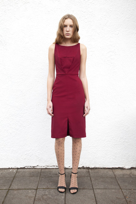 Eliza Faulkner Milah Dress (Wine)