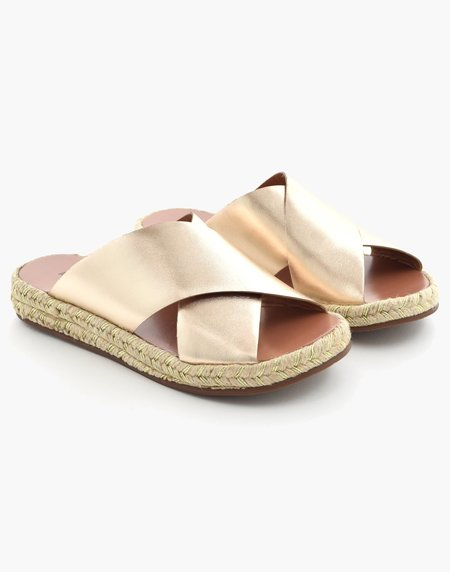 Ariana Bohling Teddie Sandal - Gold