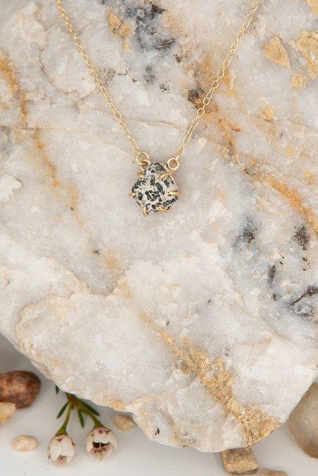 Jess Meany 13 Stone Necklace - 14k gold-filled