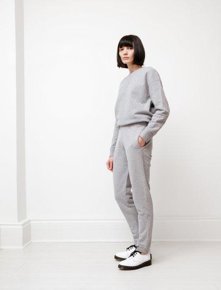 Sunspel Loopback Track Pants - Grey