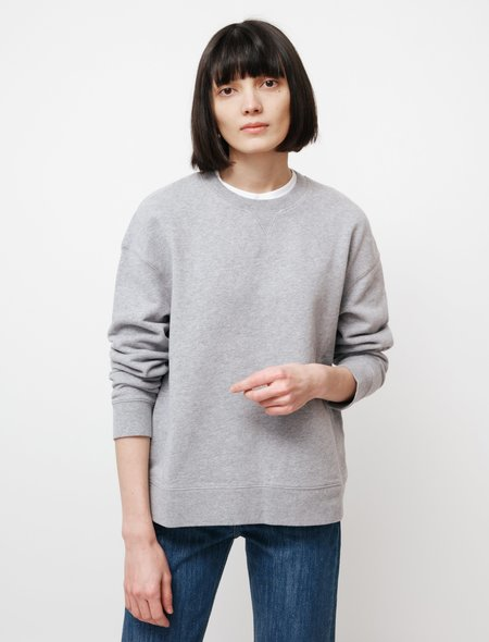 Sunspel Relaxed Sweatshirt - Grey