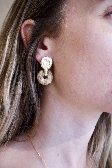 Mercurial NYC Helena Earring - Jasper