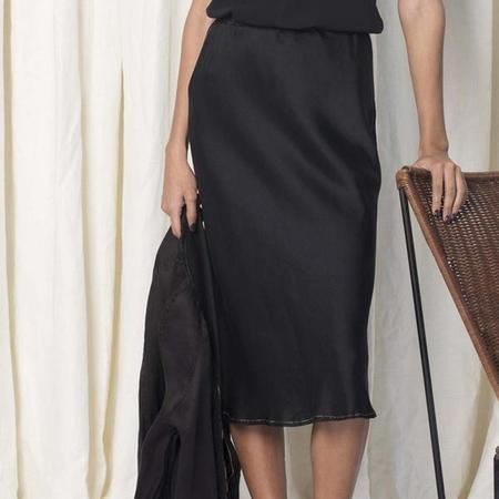 AQC Robbi Slip Skirt - Black