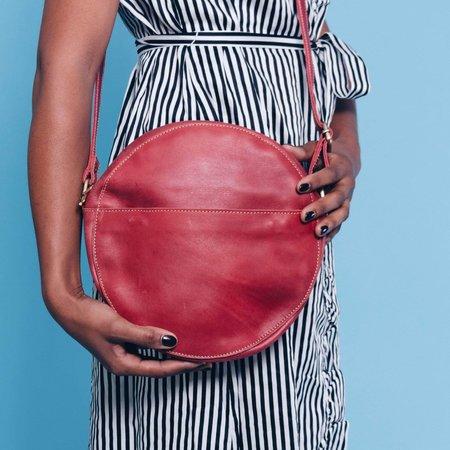 UnoEth Zuri Circle Bag - Red