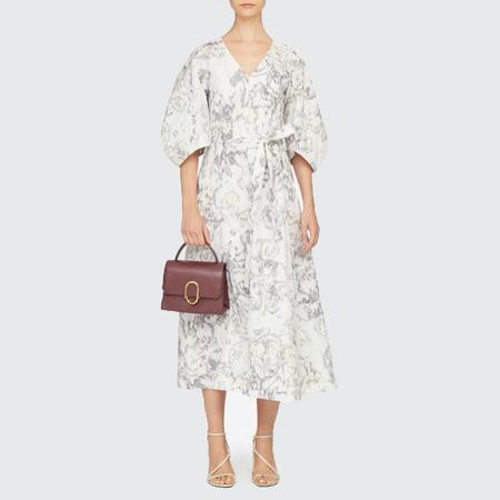 3.1 Phillip Lim Abstract Daisy Poplin Dress - White