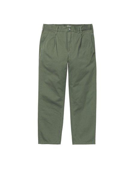 CARHARTT WIP Pantalón Abbott - Dollar Green