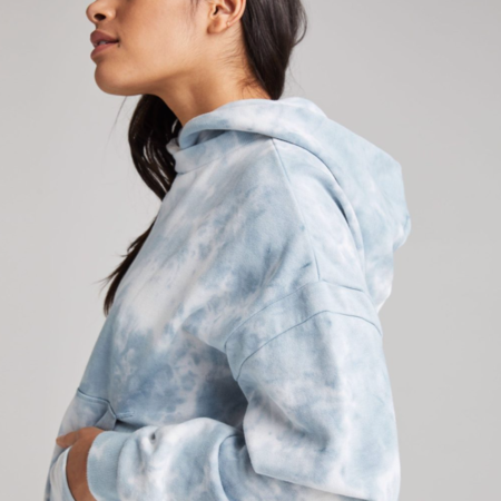 Richer Poorer Recycled Fleece Hoodie - Mirage Wash
