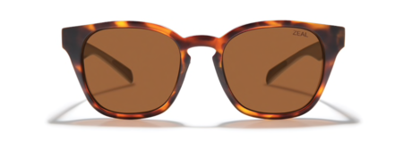 Zeal Windsor Sunglasses - Matte Tortoise