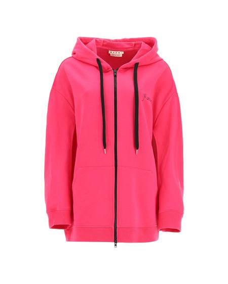 Marni Oversized Hoodie - Pink