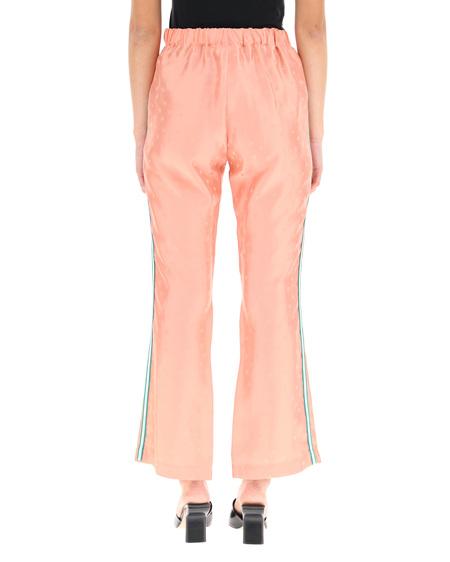 Marni Jacquard Trousers - pink