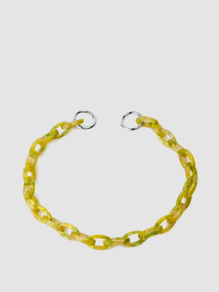 Sonya Lee acetate chain Necklace - 7