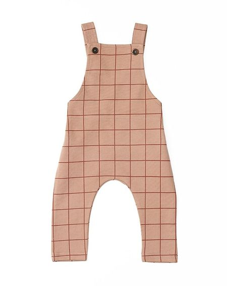 Kids MAINIO Baby Dandy Dungarees - Brown
