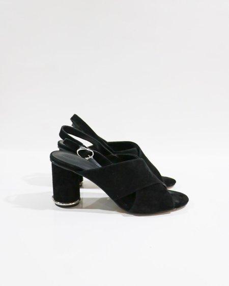 [pre-loved] Rebecca Minkoff Suede Sandals - Black