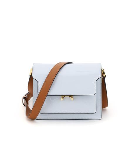 Marni New Trunk Mini Leather Bag
