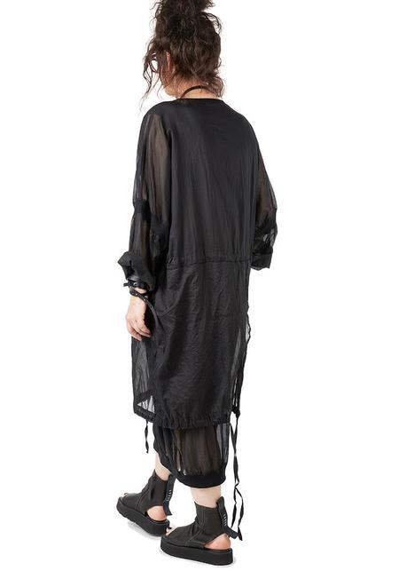 Studio B3 Vesnya Paneled Oversized Dress - Black