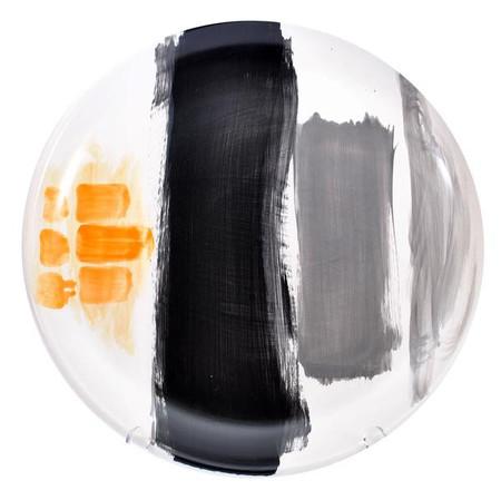 Gail Garcia Grey / Orange Platter