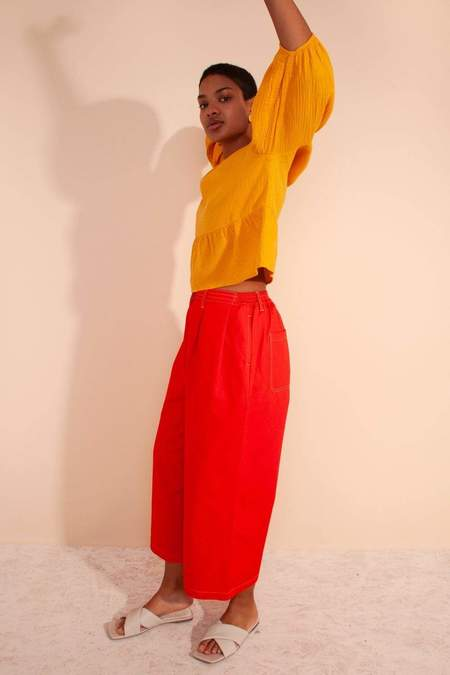 L.F.Markey Jorgen Trousers - Tomato