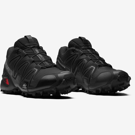 Salomon Speedcross 3 Sneakers -  Black/Black/Quiet Shade