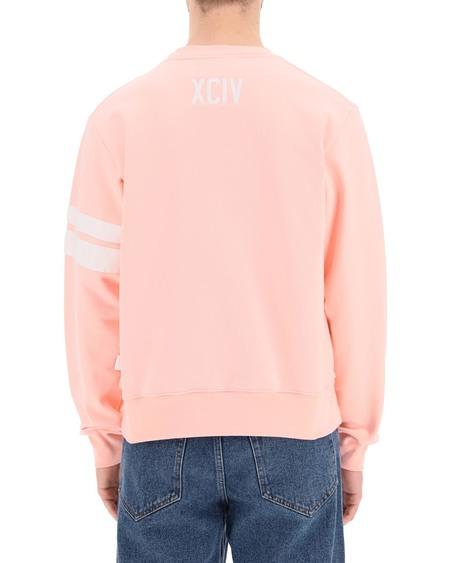 GCDS Crew-neck Logo Sweatshirt - pink