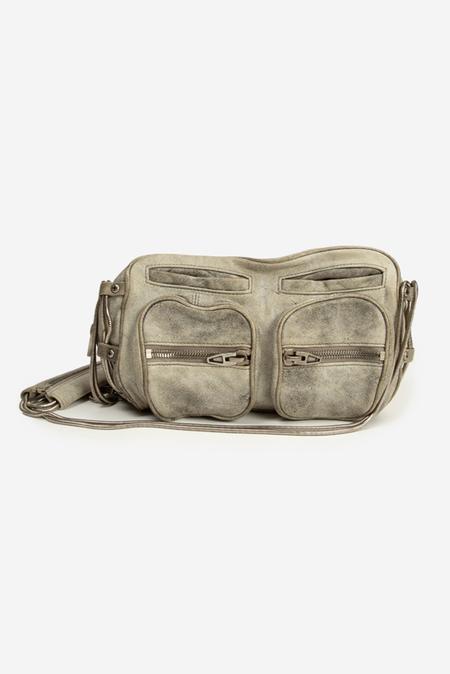 Alexander Wang Brenda Chain Bag - Grey Denim