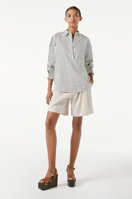FRAME Denim Whitney Popover top - Blanc Multi