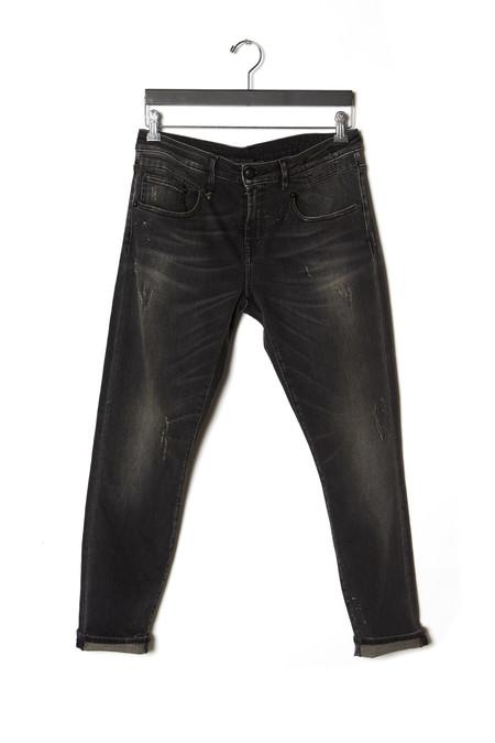 R13 Cropped Skinny Boy Jeans