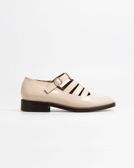 Naguisa Bielsa Shoes - Ecru