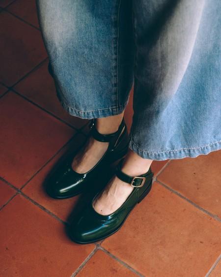 Naguisa Das Shoes - Green