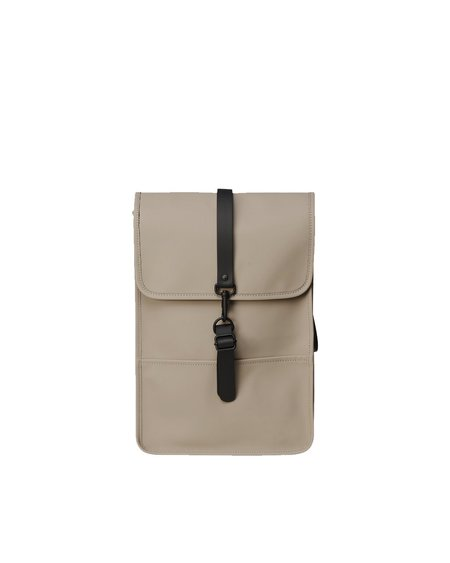 Unisex Rains Mochila Backpack Mini - Taupe