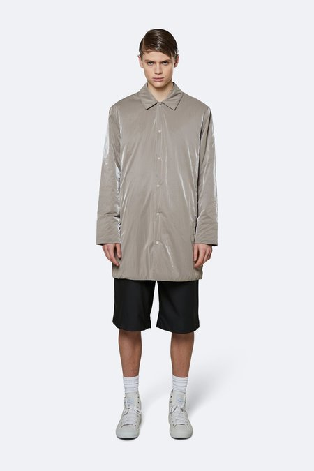 Rains Drifter Mac Jacket - Taupe
