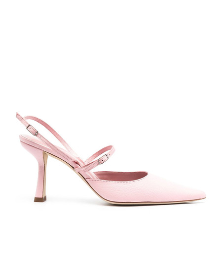 BY FAR Tiffany Slingback Pumps - Pink